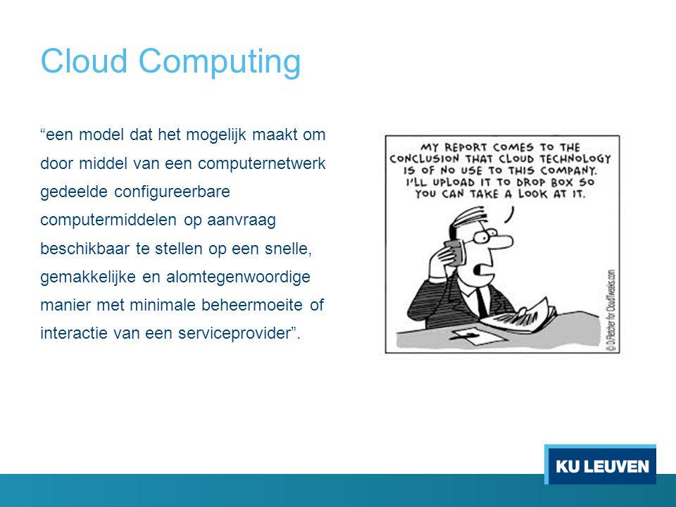 Individuele eindgebruikers waren early adopters van cloud computing