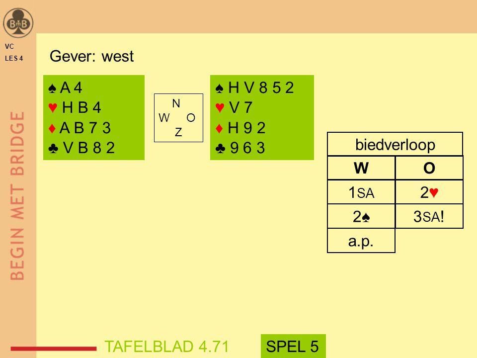 2♠2♠ 3 SA .