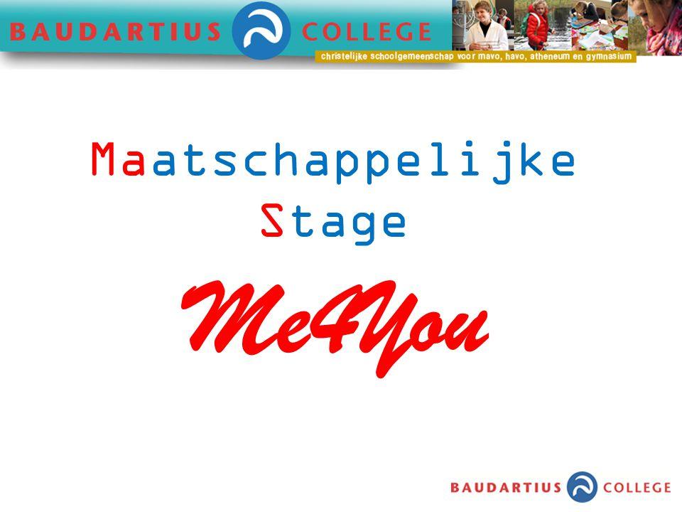 Me4You Maatschappelijke Stage