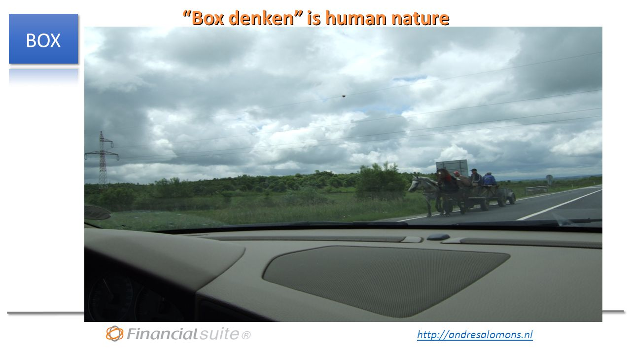 "http://andresalomons.nl ""Box denken"" is human nature"