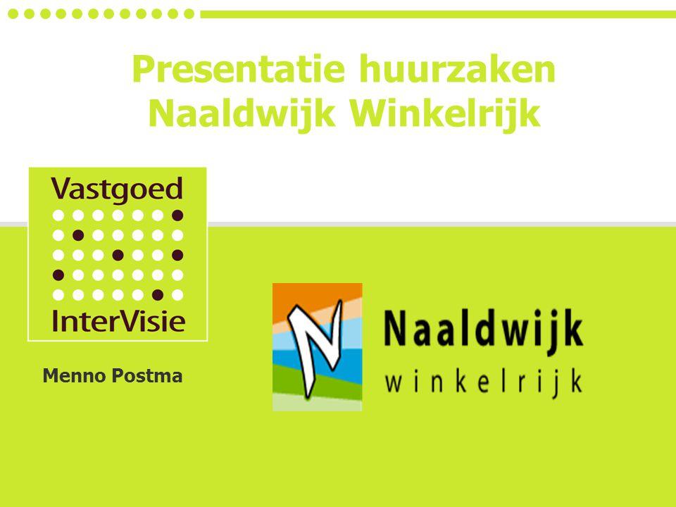 Presentatie huurzaken Naaldwijk Winkelrijk Menno Postma