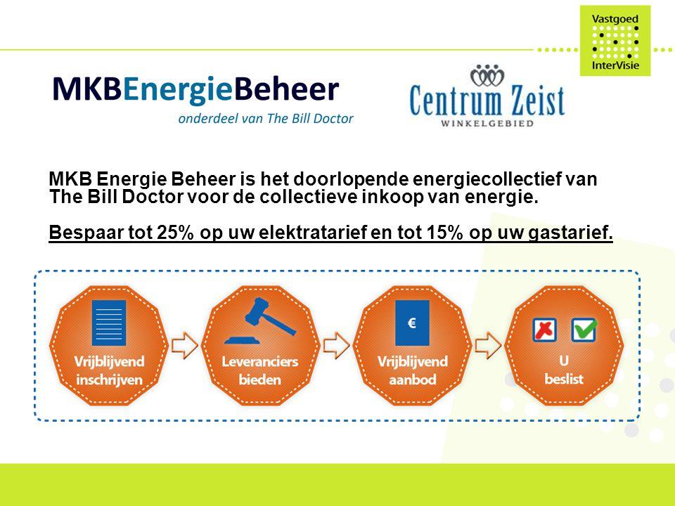 MKB Energie Beheer is het doorlopende energiecollectief van The Bill Doctor voor de collectieve inkoop van energie.