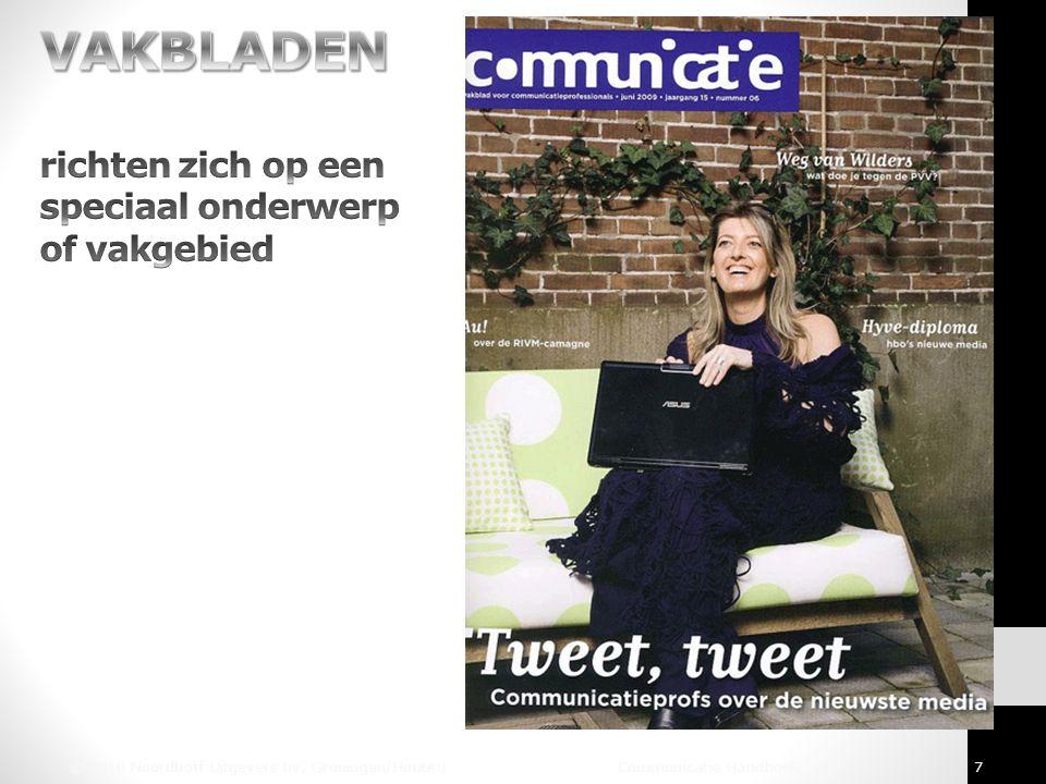 © 2010 Noordhoff Uitgevers bv, Groningen/Houten Communicatie Handboek 7