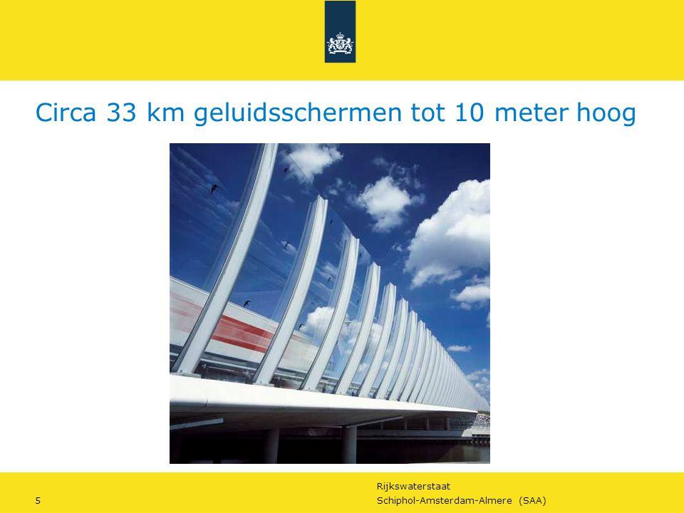 Rijkswaterstaat 16Schiphol-Amsterdam-Almere (SAA) Maar we willen meer… Waarom RWS werkt aan duurzaamheid?