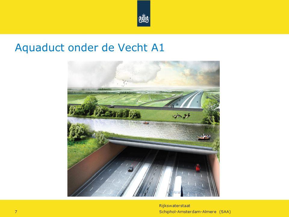 Rijkswaterstaat 7Schiphol-Amsterdam-Almere (SAA) Aquaduct onder de Vecht A1
