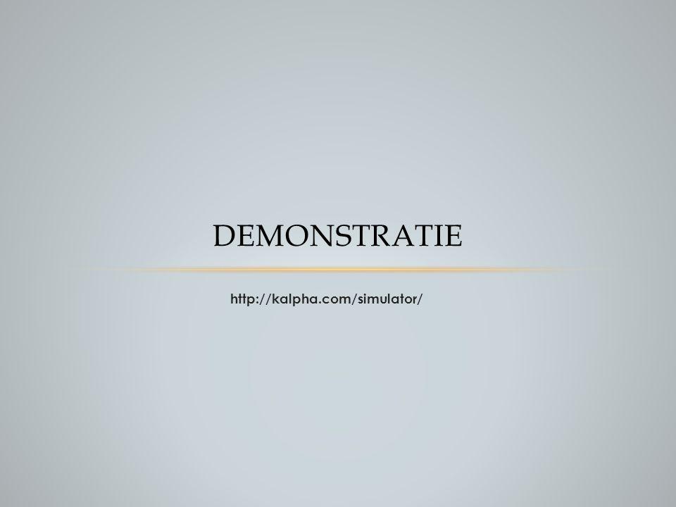 http://kalpha.com/simulator/ DEMONSTRATIE