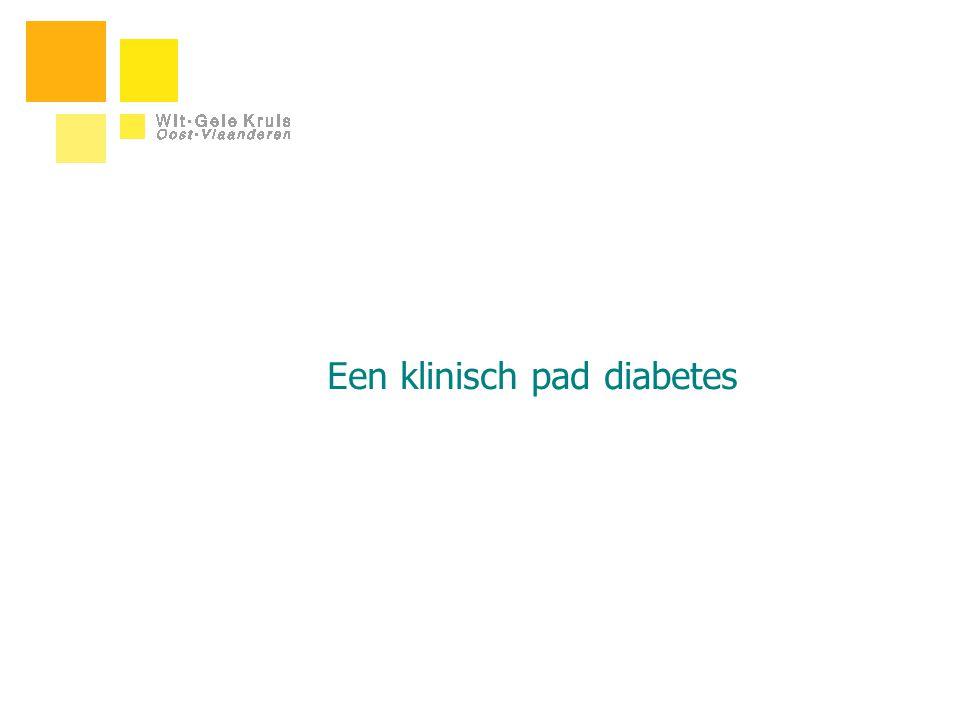 Een klinisch pad diabetes