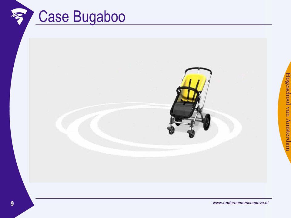 www.ondernemerschaphva.nl 9 Case Bugaboo