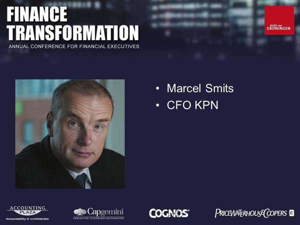 KPN Finance Transformation Transformation Roadmap ICT 12 december 2007 Marcel Smits CFO KPN