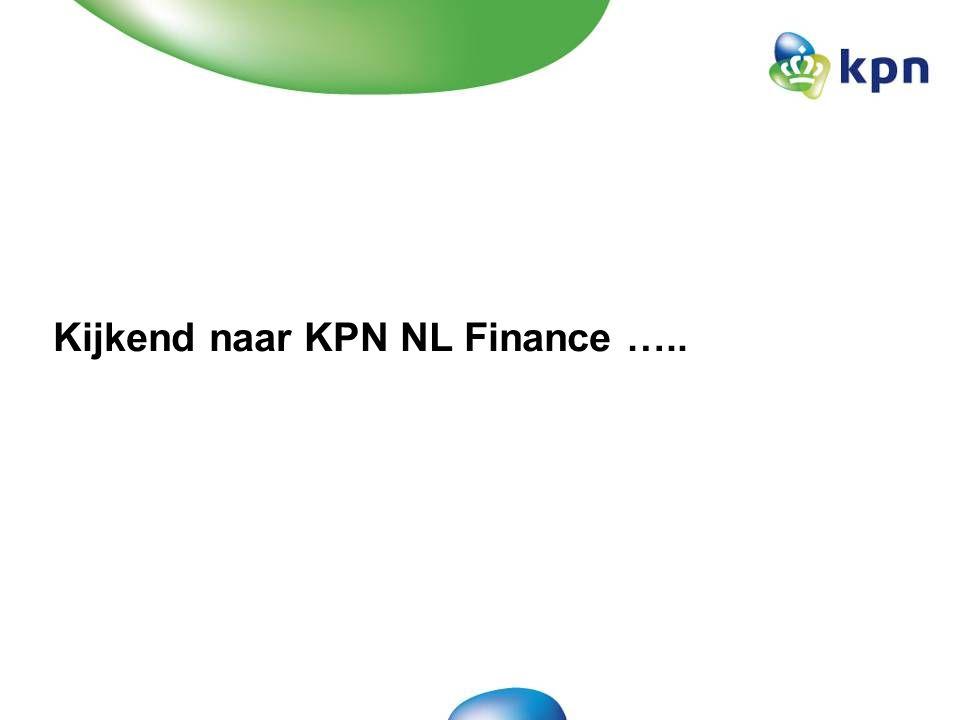 CONFIDENTIAL 30 maart 2007 Benchmark toont aan dat Finance kosten hoog zijn.