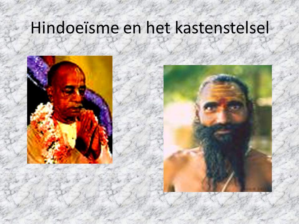 Hindoeïsme en het kastenstelsel