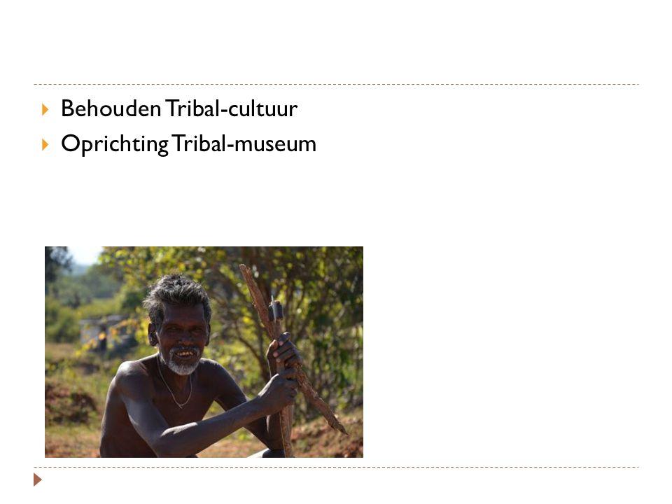  Behouden Tribal-cultuur  Oprichting Tribal-museum