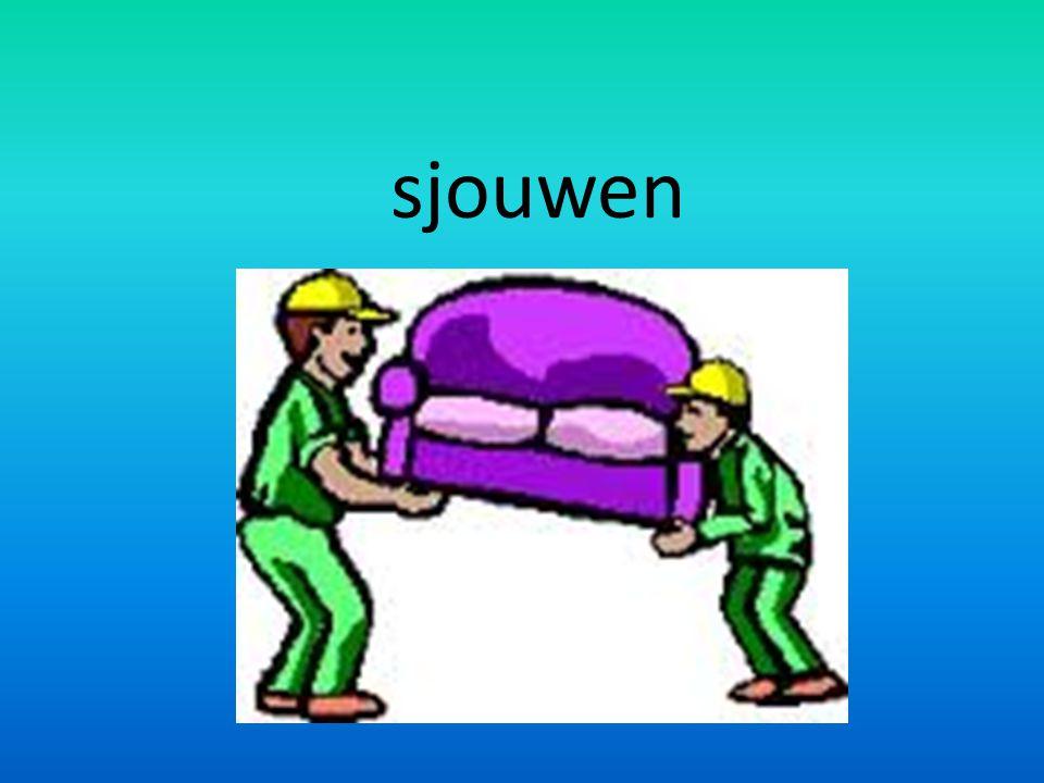 sjouwen
