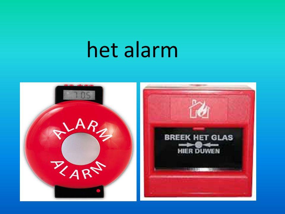 het alarm