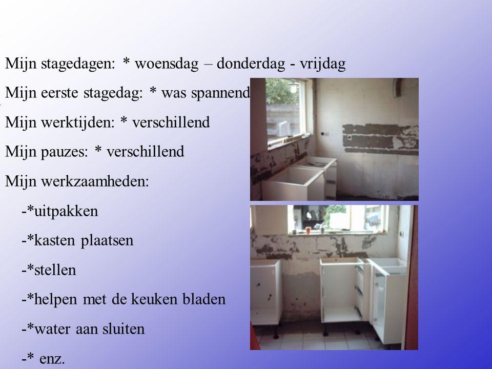 Montage bedrijf Adres: tartusstraat 4 Plaats: deventer **Wat voor bedrijf is het .