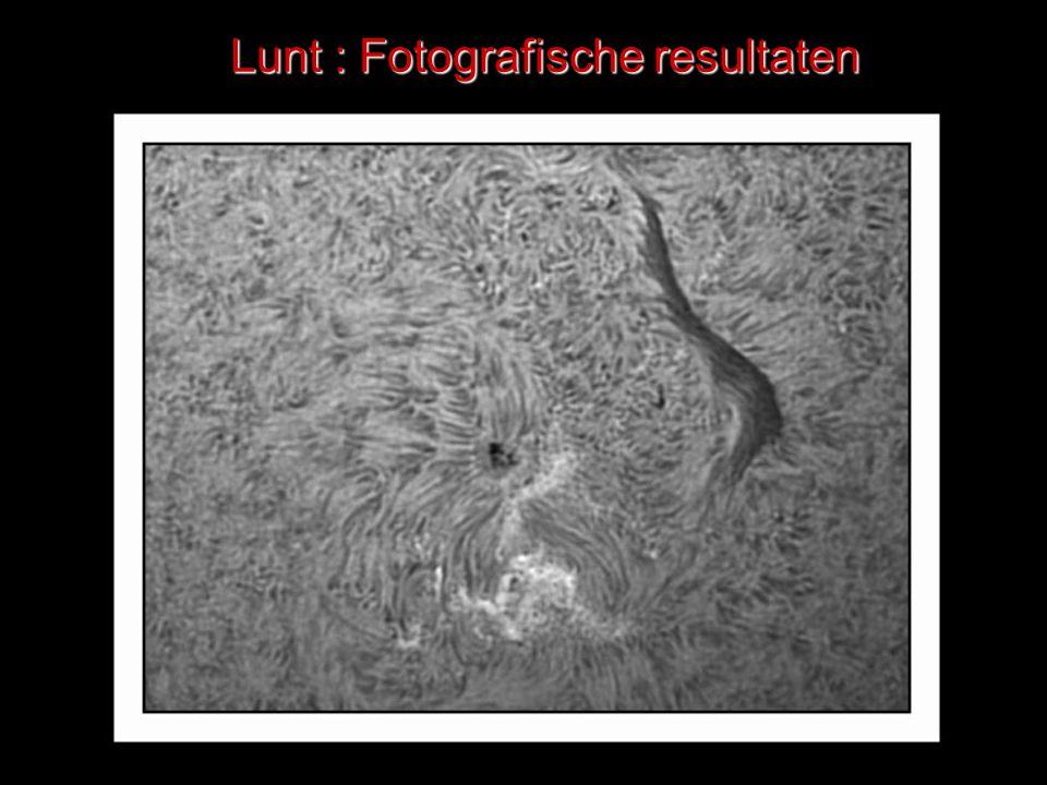 Lunt : Fotografische resultaten