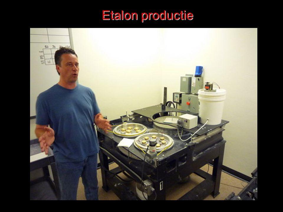 Etalon productie