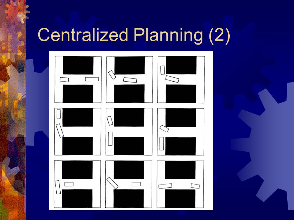 Centralized Planning (2)
