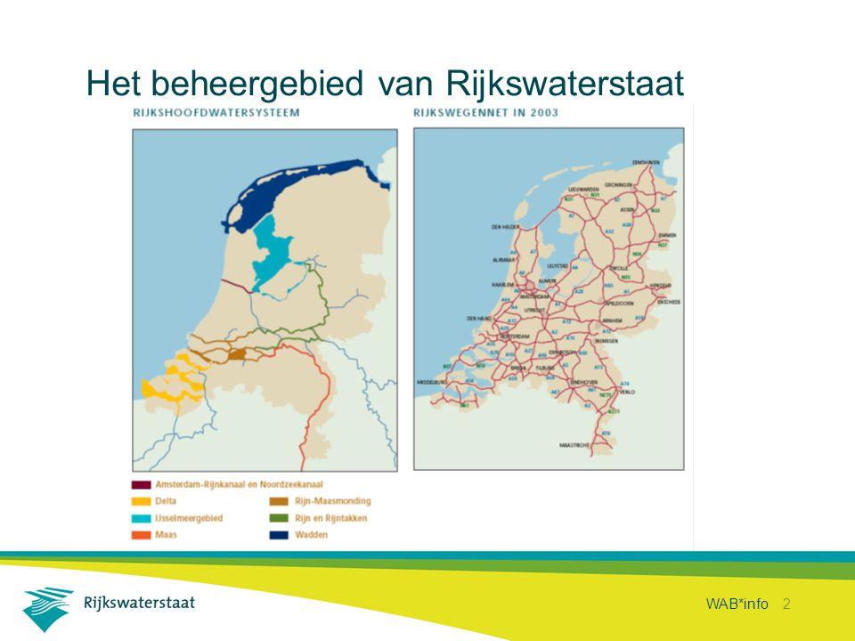 WAB*info 2 Het beheergebied van Rijkswaterstaat