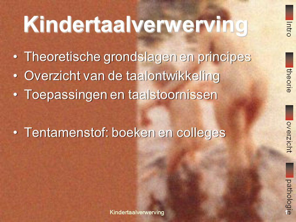 Kindertaalverwerving21 Taalpathologie 3 3