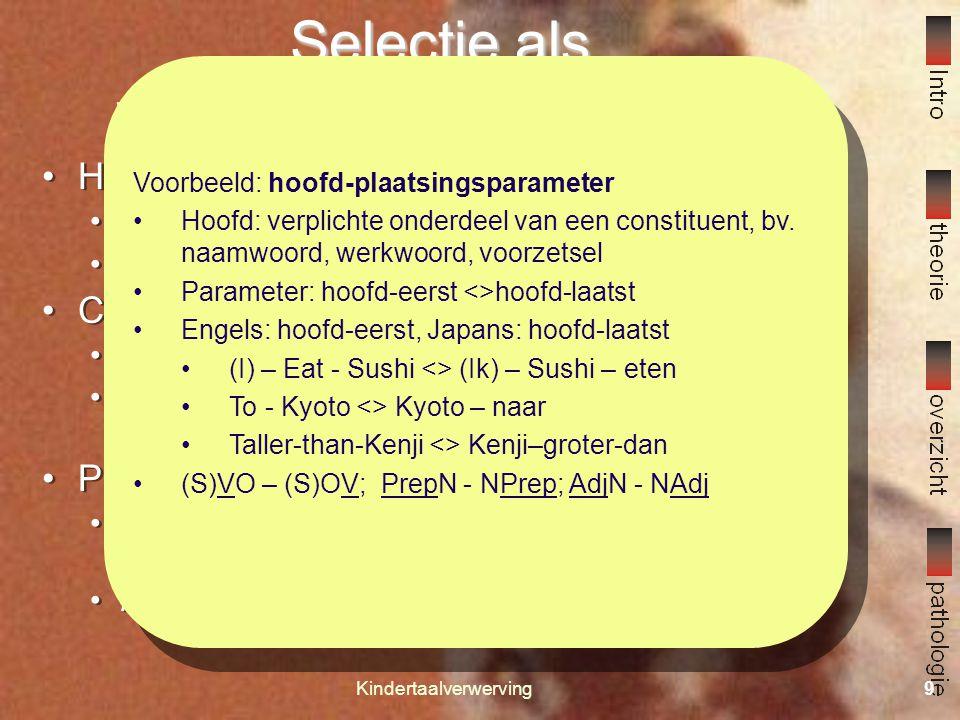 Kindertaalverwerving8 Hoe verwerven we taal.