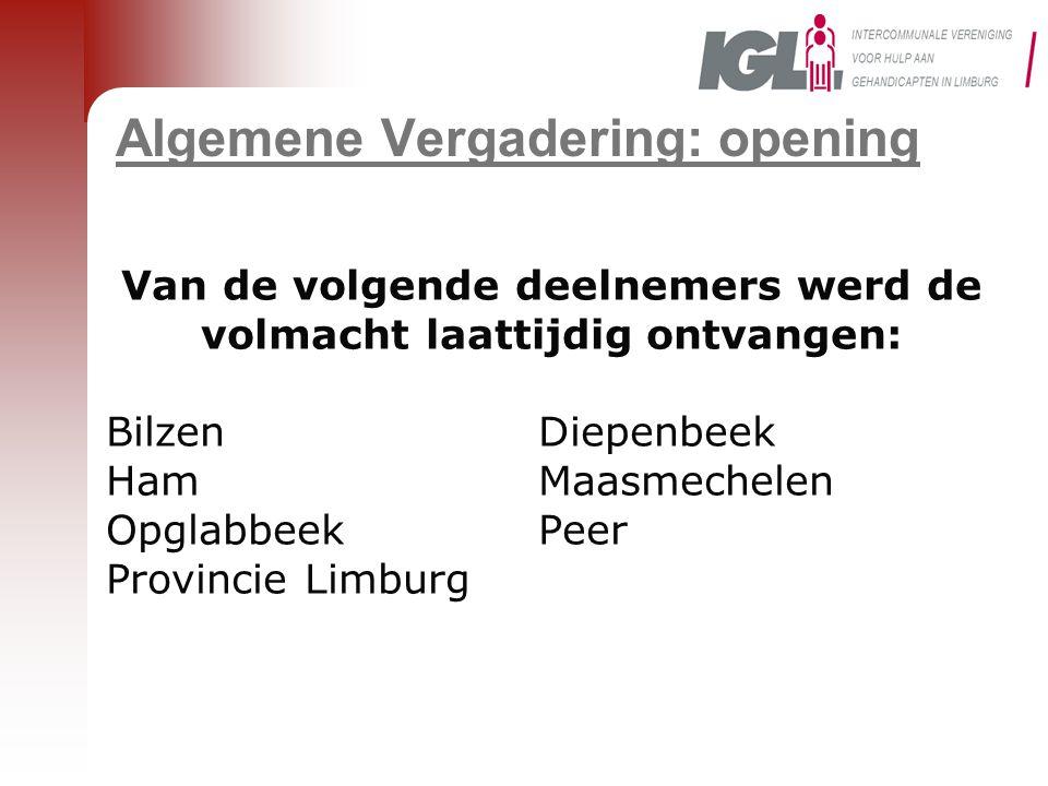 Financieel beleid Dagprijsdossiers 2007 en 2008.
