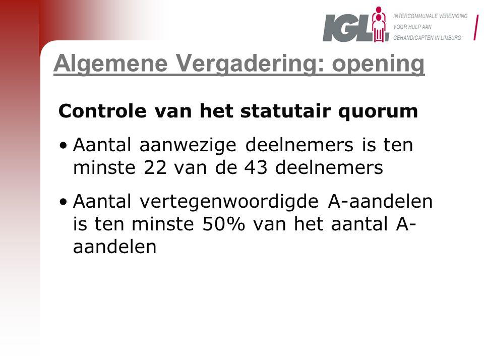 7a.Netwerk Onafhankelijke Cliënt- ondersteuning (4) Goedkeuring van de toetreding van IGL–BC Ter Heide tot de VZW Netwerk Onafhankelijke Cliëntondersteuning?