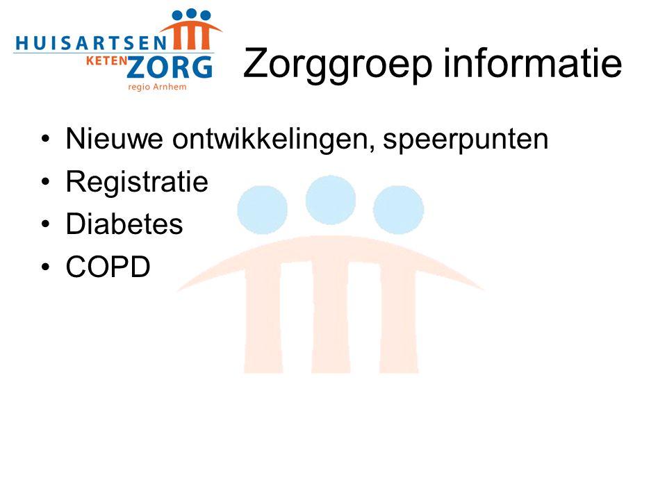 Diabetes stand van zaken 2007 - 2011 Mia Vorstermans