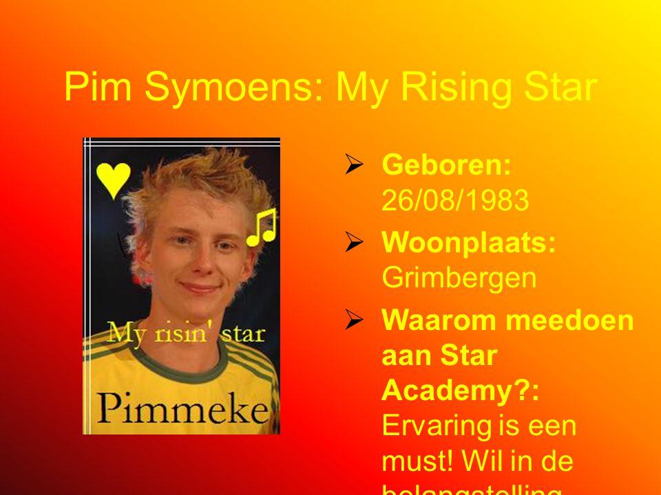 Pim Symoens By Kathy Van Eyck