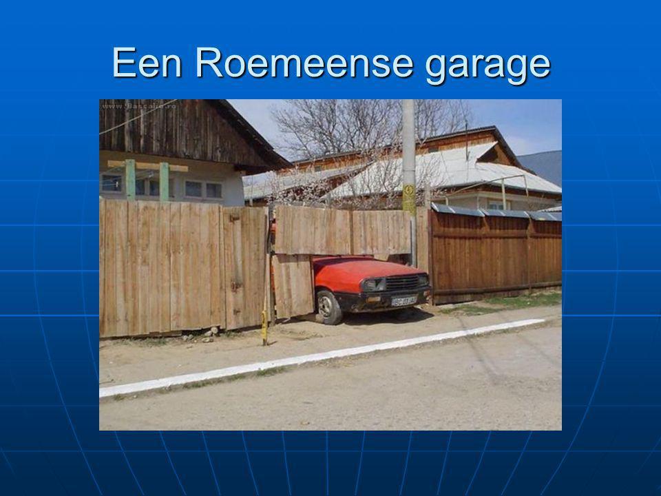 Een Roemeense garage