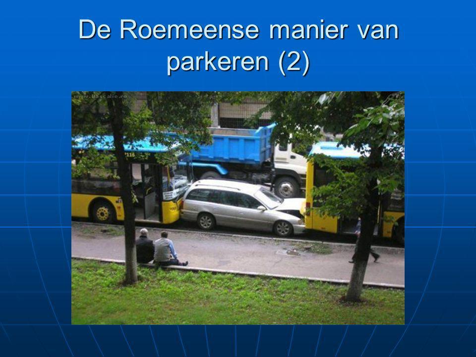 De Roemeense manier van parkeren (2)