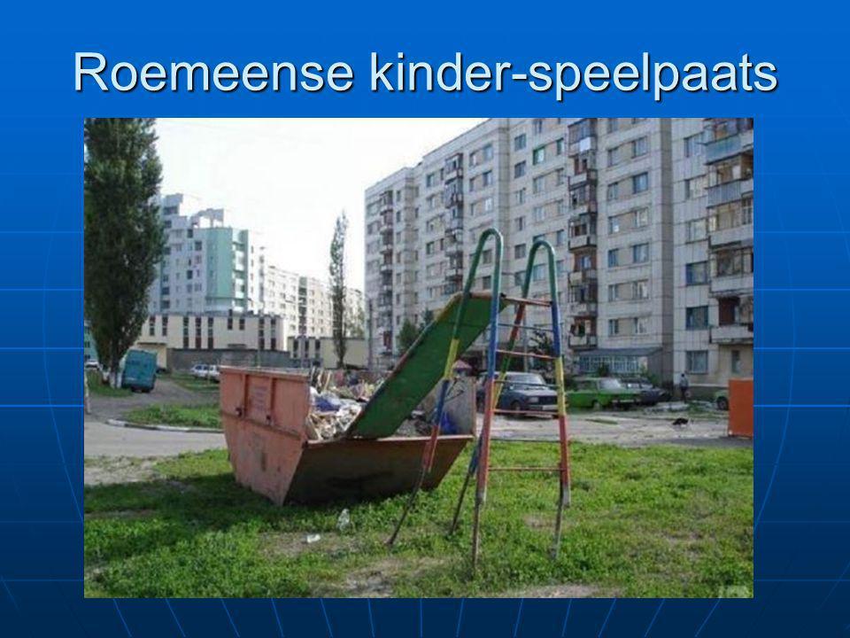 Roemeense kinder-speelpaats