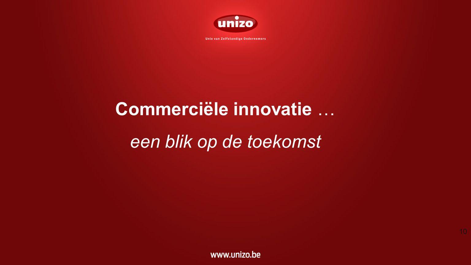 Commerciële innovatie … een blik op de toekomst 10