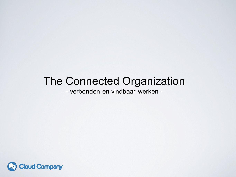 The Connected Organization - verbonden en vindbaar werken -