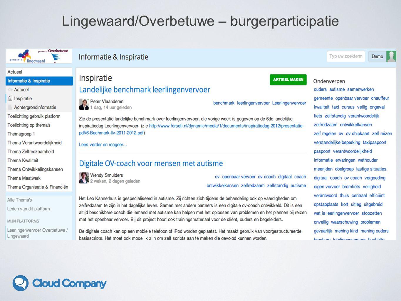 Lingewaard/Overbetuwe – burgerparticipatie