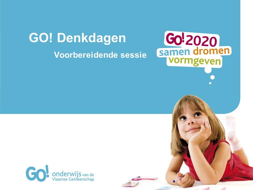 GO! Denkdagen Voorbereidende sessie