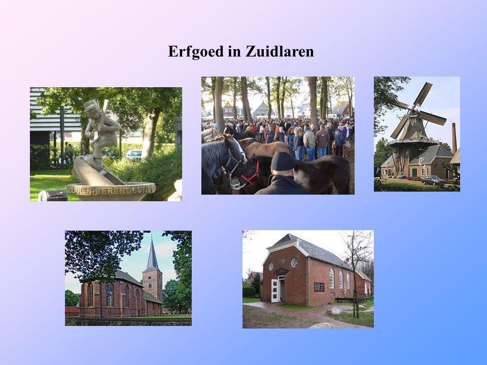 Erfgoed in Zuidlaren