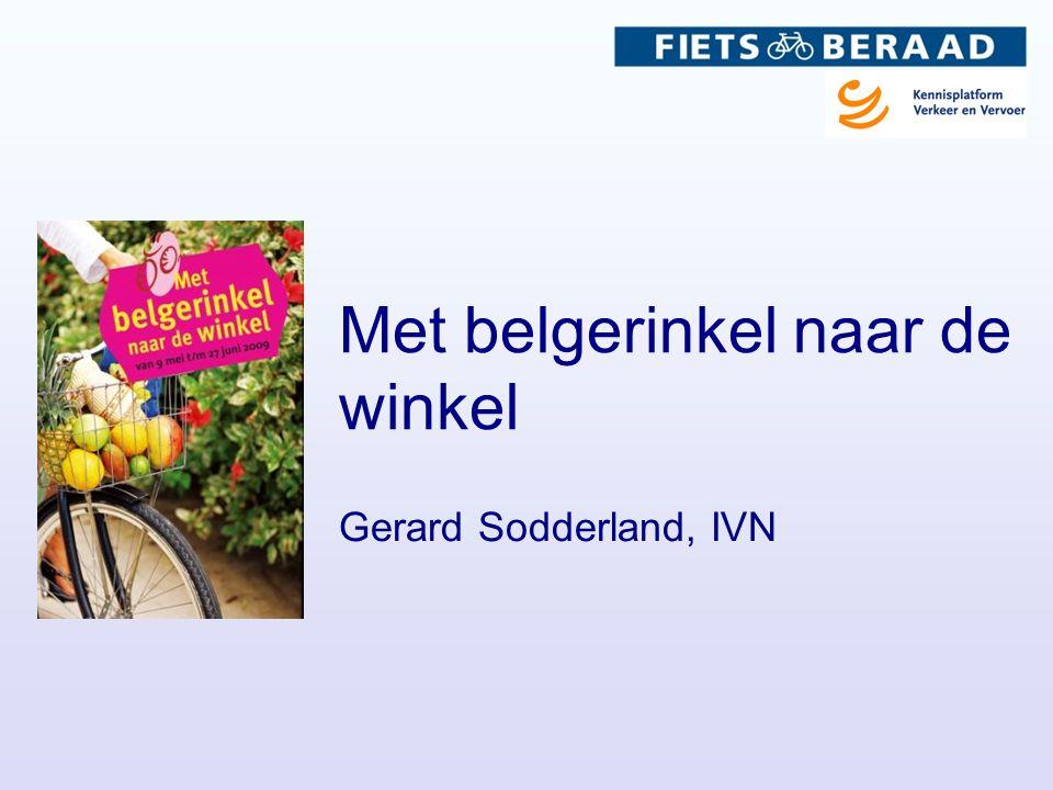 Met belgerinkel naar de winkel Gerard Sodderland, IVN