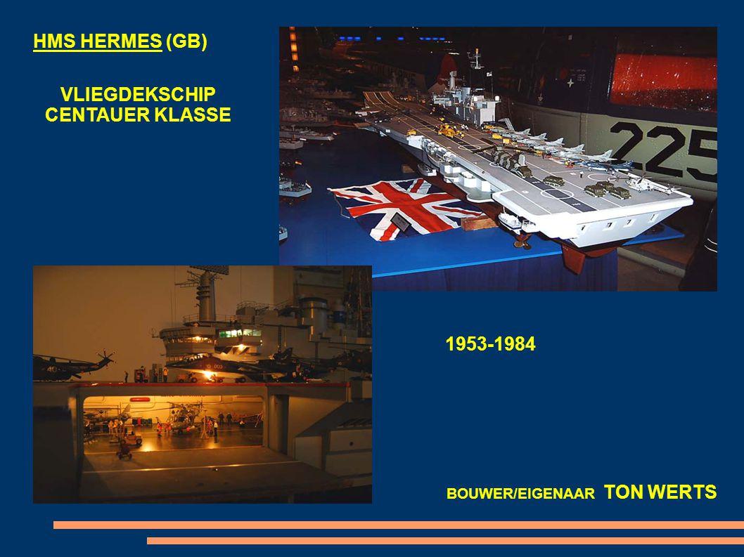 HMS VICTORIUS (GB) VLIEGDEKSCHIP 1937-1968 BOUWER/EIGENAAR HANS VOLLEBREGT