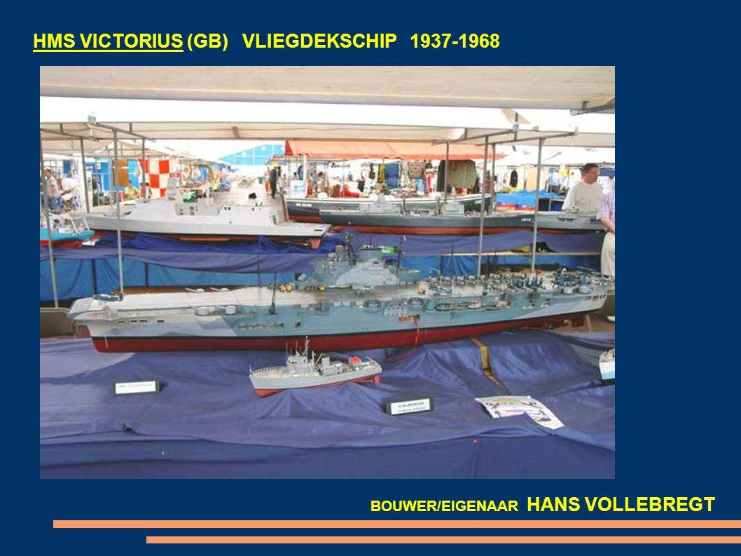 Hr. Ms. KAREL DOORMAN R81 (NL) VLIEGDEKSCHIP 1948-1968 BOUWER/EIGENAAR JOOP VAN POORTEN