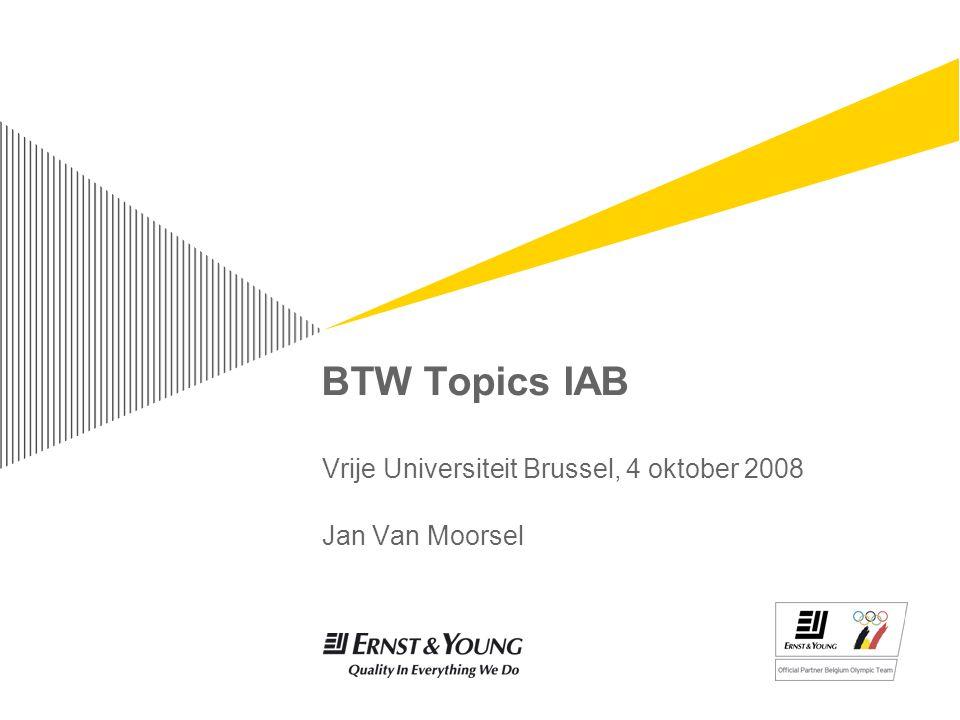 4 oktober 2008BTW Topics IABPage 32 Bewijs van uitvoer ► Parl.