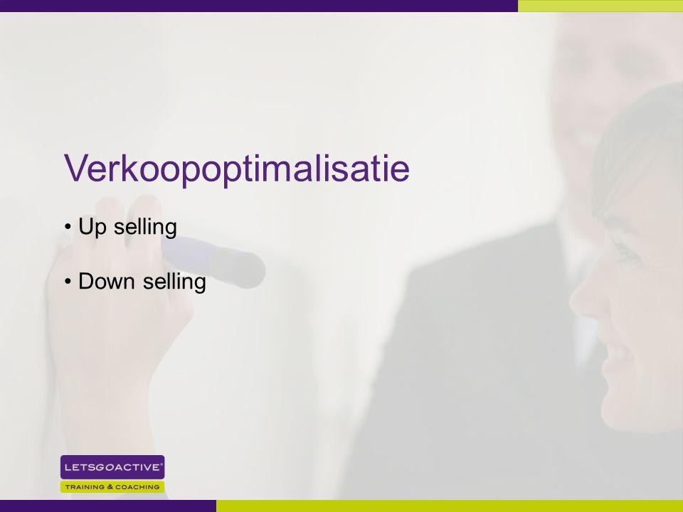 30 Verkoopoptimalisatie Up selling Down selling