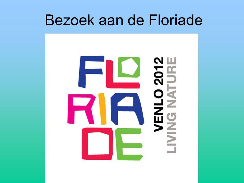 Bezoek aan de Floriade