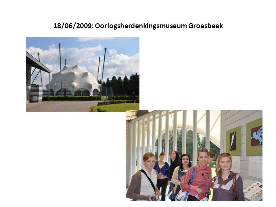 18/06/2009: Oorlogsherdenkingsmuseum Groesbeek