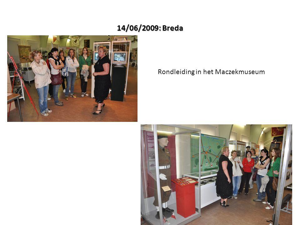 14/06/2009: Breda Rondleiding in het Maczekmuseum