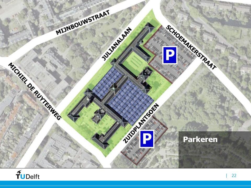 |23 Straat komt terug als hart van faculteit bouwkunde -met functies als: espressobar, bookshop, servicepunt etc.