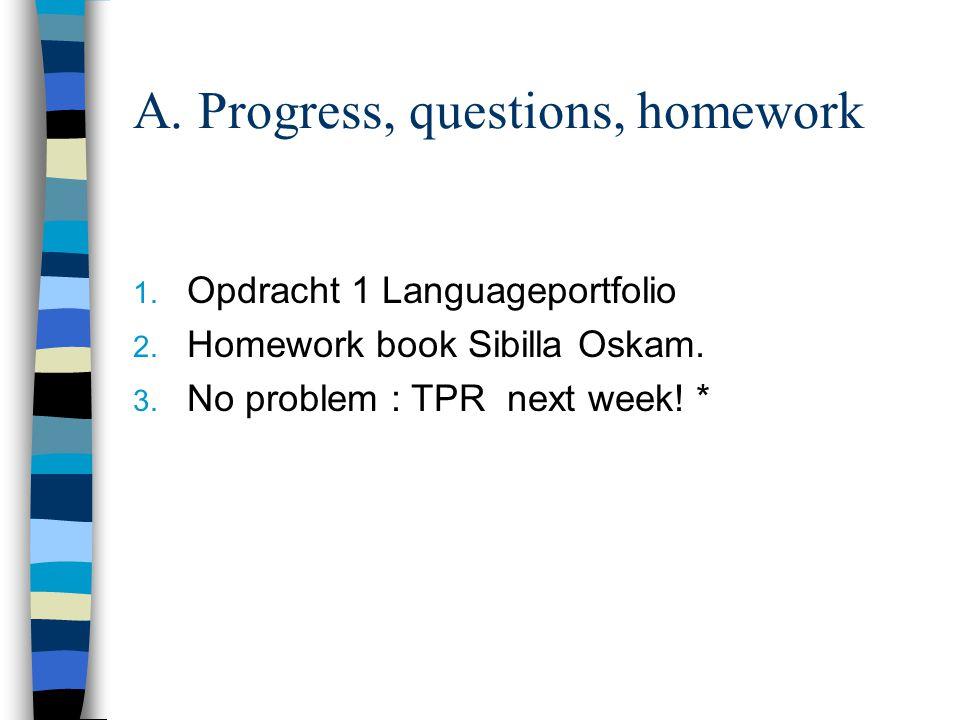 1.Opdracht 1 Lees hoofdstuk 1 (t/m 1.6.3) uit het boek van Oskam.