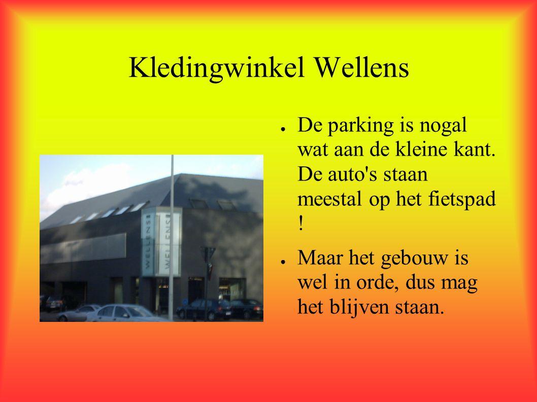 AVEVE - Herentals ● De parking is wederom maar bescheiden klein.