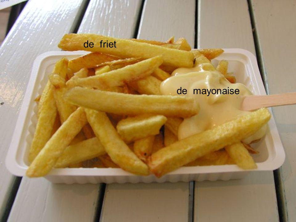 de friet de mayonaise