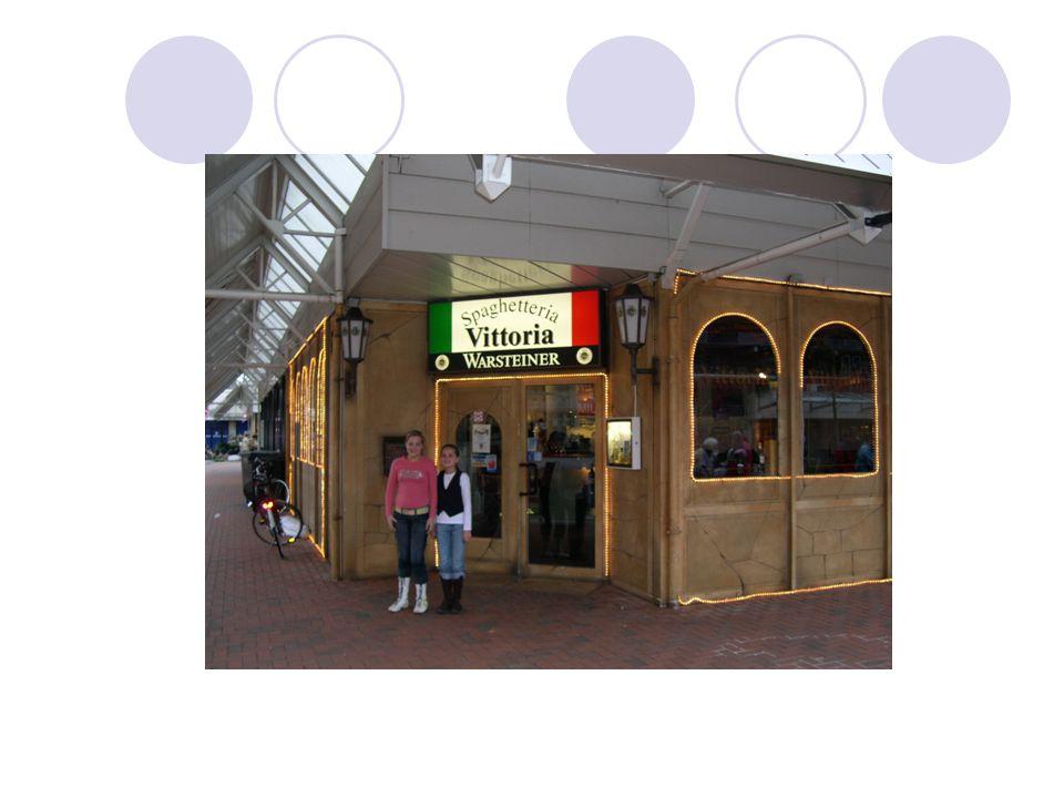 Het restaurant Dit is het restaurant.